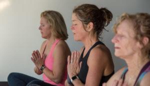 ending yoga class