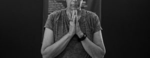 prayer hands yoga